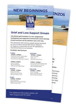 Grief and Loss Support to Individuals or Groups