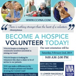 become hospice volunteer