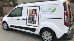 VNA Hospice's Innovative Latino Mobile Resource Center Van