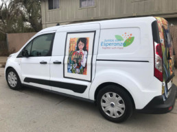 VNA Hospice's Innovative Latino Mobile Resource Center Van